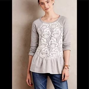 Anthropologie Sunday in Brooklyn Meja Pullover L